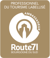 Route 71 Bourgogne du sud, professionnel du Tourisme Labellisé